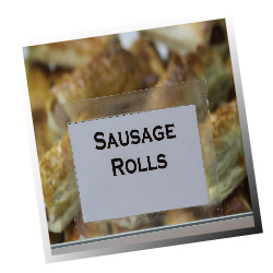 Sweeney Todd Sausage Rolls